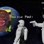 It's all Monkey? | Paul | image tagged in wait its all,memes,dank memes | made w/ Imgflip meme maker