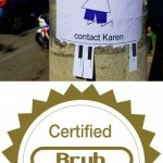 Certified bruh moment: Babysitter available-contact Karen | image tagged in certified bruh moment,memes,funny,babysitter,karen,karens | made w/ Imgflip meme maker