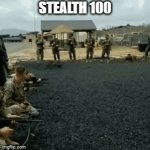 stealth 100 | STEALTH 100 | image tagged in gifs,stealth | made w/ Imgflip video-to-gif maker