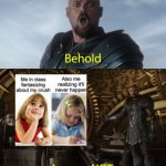 Behold my stuff | A meme NOT about Among Us | image tagged in behold my stuff | made w/ Imgflip meme maker