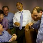 And then I said Obama