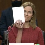 Amy Coney Barrett meme