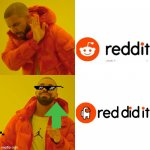 Red sus ngl | image tagged in memes,drake hotline bling,among us | made w/ Imgflip meme maker