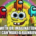 Imagination Spongebob Blank Meme Template - Imgflip