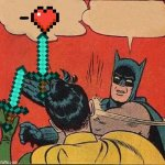 Batman Slapping Robin Meme | - | image tagged in memes,batman slapping robin | made w/ Imgflip meme maker