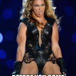 Ermahgerd Beyonce Meme | WHEN YOU SEE SOMEONE WITH UR MANZ AND FREEZE BEFORE YOU COME IN LIKE A WRECKING BALL | image tagged in memes,ermahgerd beyonce | made w/ Imgflip meme maker