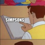 Peter parker reading a book  | FUTURE SIMPSONS FUTURE | image tagged in peter parker reading a book | made w/ Imgflip meme maker