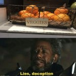 Fruits | image tagged in sw lies deception,you had one job,memes,fruits,task failed successfully,funny | made w/ Imgflip meme maker