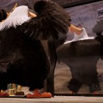 Mighty eagle, angry birds meme