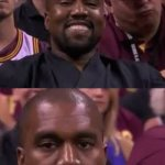 Kanye Smile Then Sad | YOU COME UP WITH A GOOD MEME AND REMEMBER IT IN THE MORNING THERE'S NO GOOD TEMPLATES | image tagged in kanye smile then sad | made w/ Imgflip meme maker