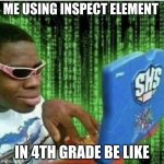 Ryan Beckford | ME USING INSPECT ELEMENT IN 4TH GRADE BE LIKE | image tagged in ryan beckford | made w/ Imgflip meme maker