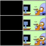 Garfield reaction meme
