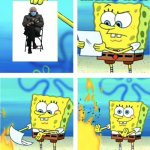 Remember the time when Bernie Sanders sitting in a chair was the best meme | IMGFLIP NOW | image tagged in spongebob burning paper | made w/ Imgflip meme maker