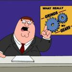 Peter Griffin - Grind My Gears meme