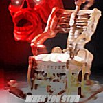 skeleton chair | WHEN YOU STUB YOUR TOE JUST RIGHT | image tagged in skeleton chair | made w/ Imgflip meme maker