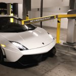 Free Lamborghini Parking | image tagged in gifs,memes,lamborghini,funny,hacks | made w/ Imgflip video-to-gif maker