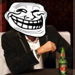 trollface interesting man meme