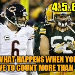 Packers Meme | 4..5..6... WHAT HAPPENS WHEN YOU HAVE TO COUNT MORE THAN 10? | image tagged in memes,packers | made w/ Imgflip meme maker