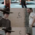 Rick and Carl 3 meme