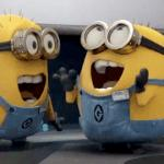 Excited Minions meme