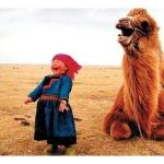 happy girl and camel meme