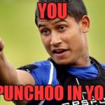 Ben Barba Pointing Meme | YOU IMA PUNCHOO IN YO FACE | image tagged in memes,barba | made w/ Imgflip meme maker