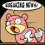 Slowpoke Breaking News meme