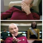 Picard frustrated meme