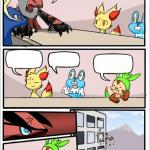Pokemon board meeting