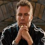 Ricky Bobby Praying meme