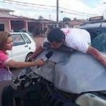 reportera/ accidente meme