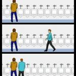 Urinal Guy meme