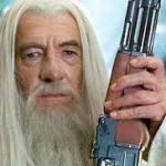Shotgun Gandalf meme