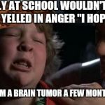 "Childhood Confession Chunk | THE BULLY AT SCHOOL WOULDN'T LEAVE ME ALONE.  I YELLED IN ANGER ""I HOPE YOU DIE"" HE DIED FROM A BRAIN TUMOR A FEW MONTHS LATER. 