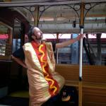 MarkDude Idiot in a HotDog suit meme