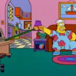 Working from Home Homer meme