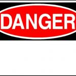 danger sign meme