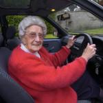 Old people, driving meme