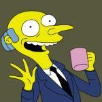 Mr Burns Simpsons Coffee meme