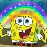 Spongebob Meme Template Rainbow - Aviana Gilmore