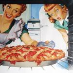 50's Wife cooking cherry pie meme