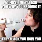 Drinking vodka Meme Generator - Imgflip