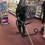 Vacuuming Alien meme