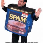 Wonderful spam | SPAM IT'S DELICIOUS! | image tagged in spam | made w/ Imgflip meme maker