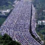 worlds biggest traffic jam meme