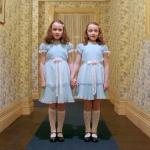Twins from The Shining meme