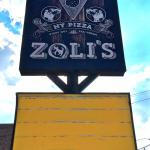 Zoli's Pizza Sign meme