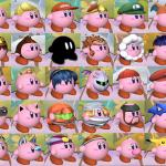 all kirby hats meme