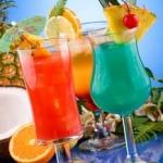 tropical drinks  meme