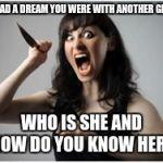 Psycho Ex Girlfriend Meme Crazy Girlfrien...